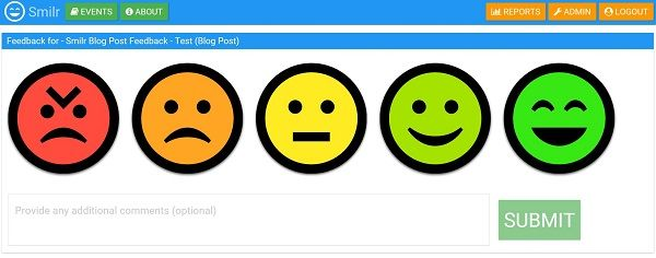 smilr-feedback